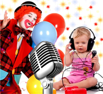 Поздравления детским голосом