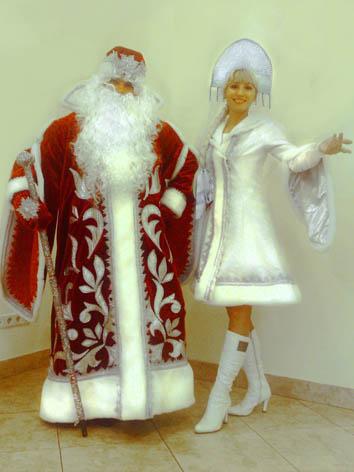 Костюмы деда мороза и снегурочки своими руками